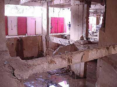 Explosão de cozinha na Praça Tiradentes